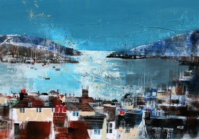British Artist Nagib KARSAN - River and Sea Views, Dartmouth