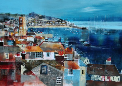 Nagib KARSAN - View to the Pier, St Ives