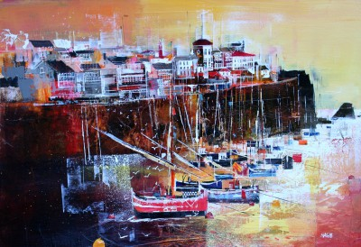 British Artist Nagib KARSAN - Cadaques, Northern Spain