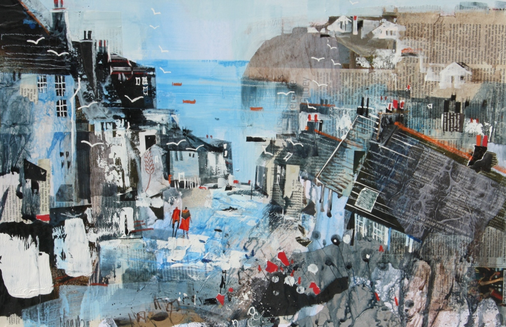 Nagib KARSAN - View Across the Bay, Port Isaac