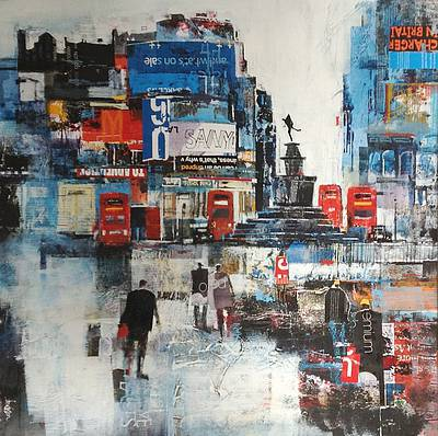 Nagib KARSAN - London Buses, Piccadilly Circus