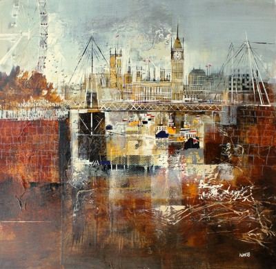 Nagib KARSAN - London Eye and Houses of Parliament