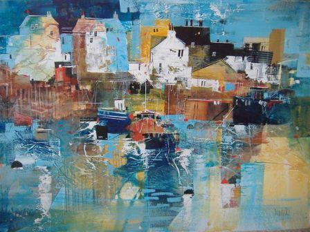 Nagib KARSAN - Working Harbour, Cornwall