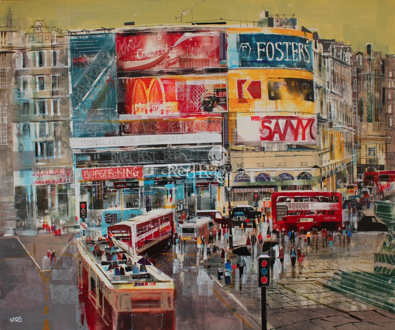 Nagib KARSAN - Traffic, Piccadilly Circus