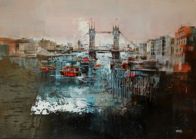 British Artist Nagib KARSAN - Tower Bridge