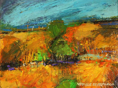 British Artist Neville FLEETWOOD - Autumn Blaze