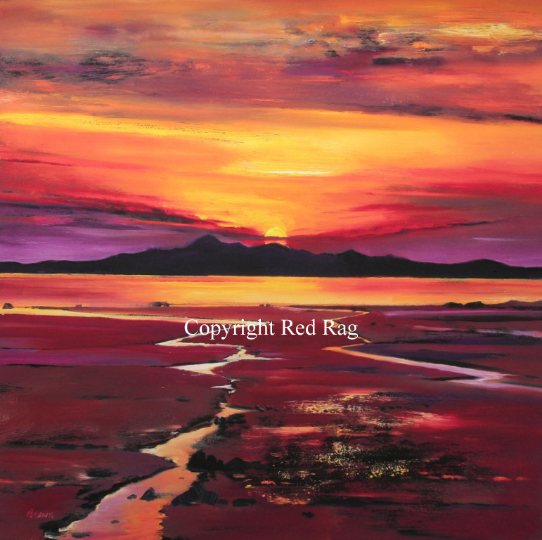 Davy Brown - Fading Sun, Arran