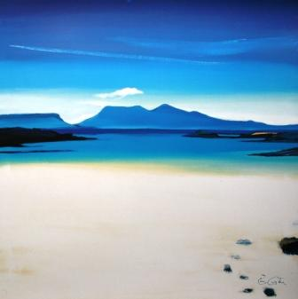 Pam Carter - View to Rhum