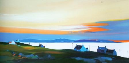 Limited Edition Prints Artist Pam Carter - Suncolours, Eriskay