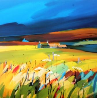 Limited Edition Prints Artist Pam Carter - Slates and Slopes