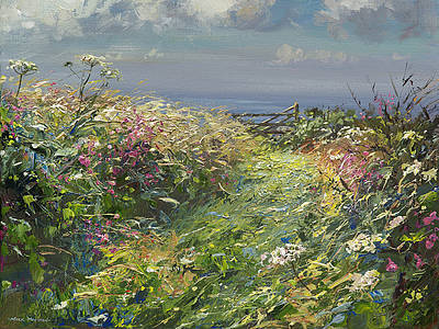 British Artist Mark Preston - Pathway to the Sea