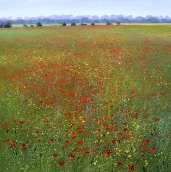 British Artist Paul Evans - Scent of Summer