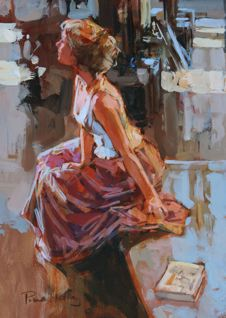 British Artist Paul HEDLEY - Andrea
