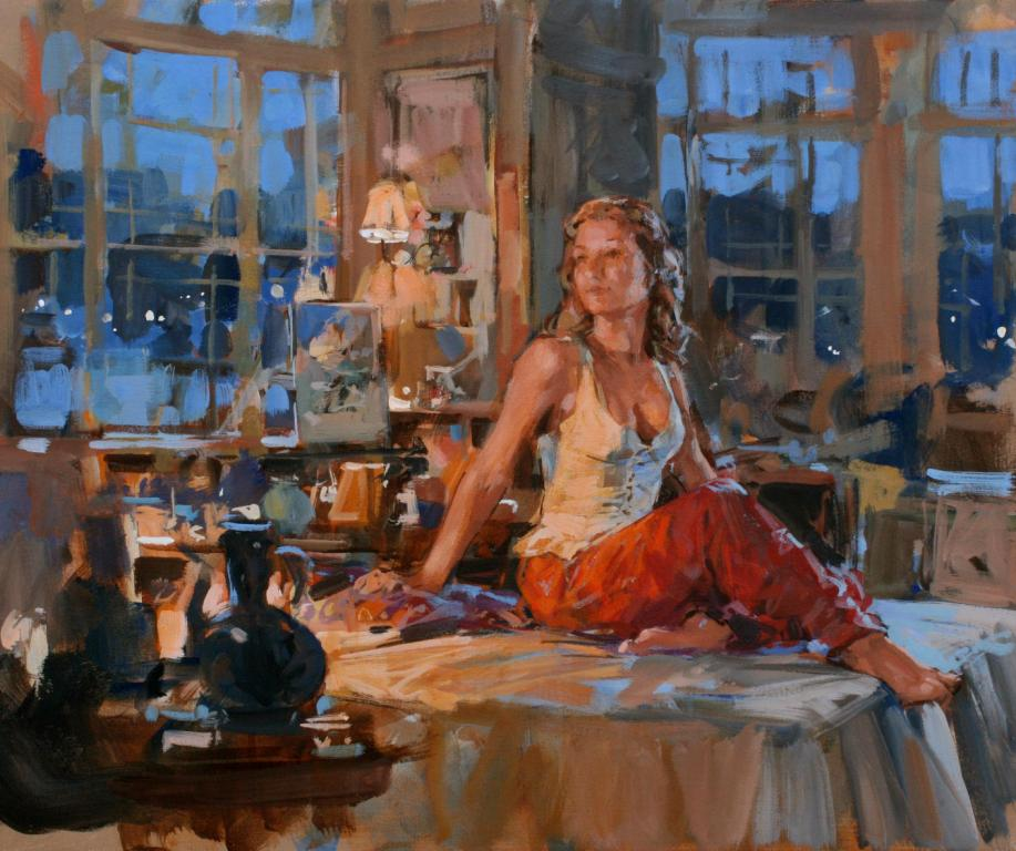 Paul HEDLEY - Kate at Dusk