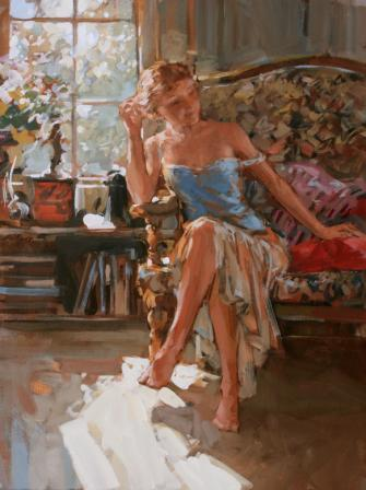 British Artist Paul HEDLEY - Alice