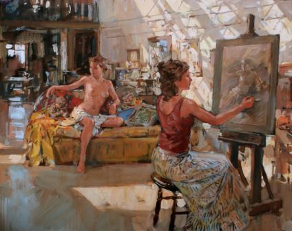 British Artist Paul HEDLEY - Life Drawing