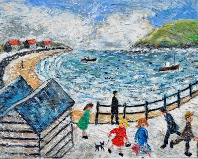 Paul ROBINSON - Past the Beach Huts...