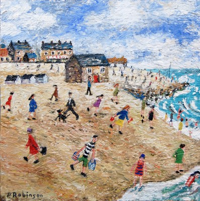 British Artist Paul ROBINSON - A Typical Summer's Day