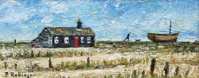 British Artist Paul ROBINSON - A Place by the Sea, Dungeness