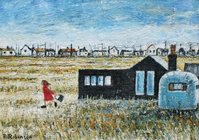 British Artist Paul ROBINSON - Her Very Own Oasis, Dungeness