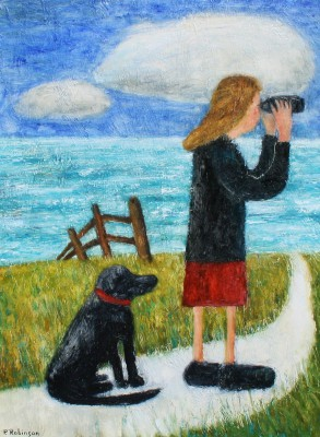 The Lookout painting by artist Paul ROBINSON