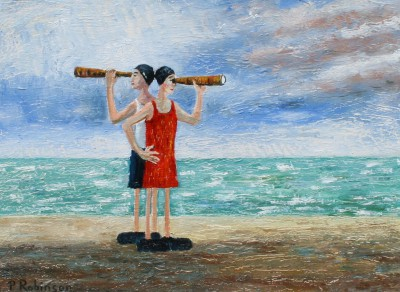 British Artist Paul ROBINSON - The Lifeguards