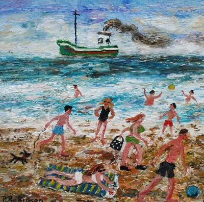 British Artist Paul ROBINSON - There is No End of Things One Can Do on a Beach