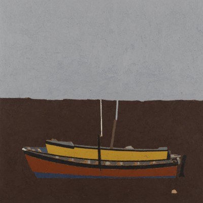 Peter BEESON - Boat Colours - St Ives Harbour