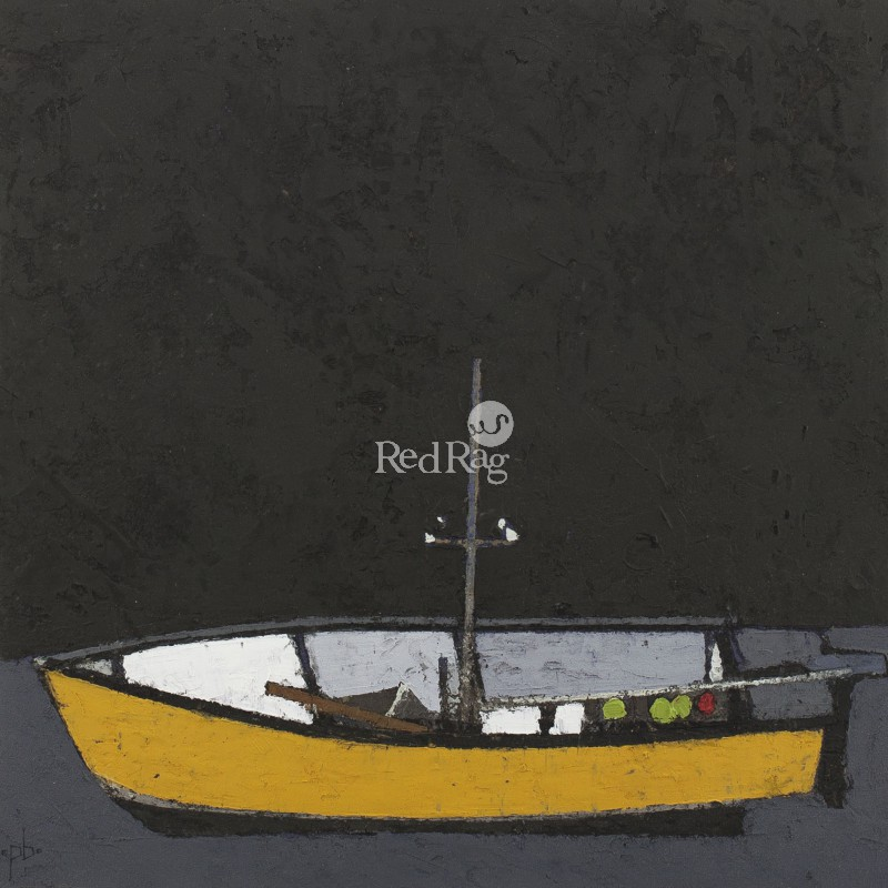 Peter BEESON - Yellow Boat - St Ives Harbour