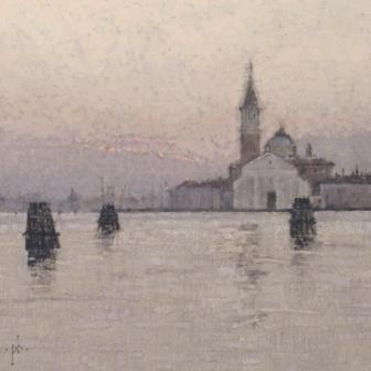 Peter BEESON - Morning the Giudecca, Venice