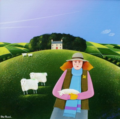 British Artist Peter HEARD - Spring Lamb