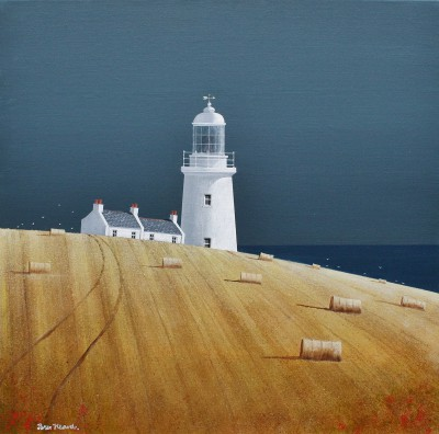 British Artist Peter HEARD - Headland Light