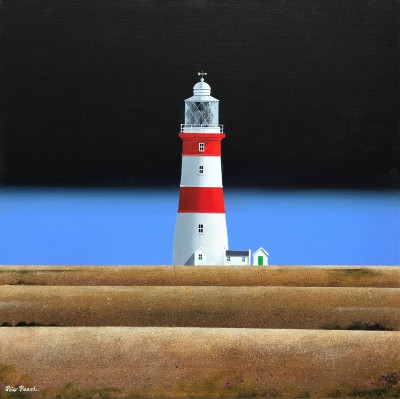 British Artist Peter HEARD - Orfordness Light