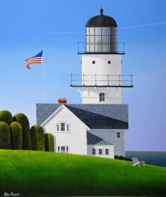 British Artist Peter HEARD - Cape Elizabeth