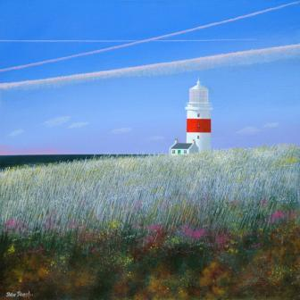 British Artist Peter HEARD - Robins Lighthouse