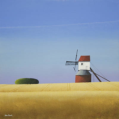 British Artist Peter HEARD - Essex Mill