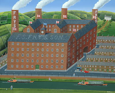British Artist Peter HEARD - Factory