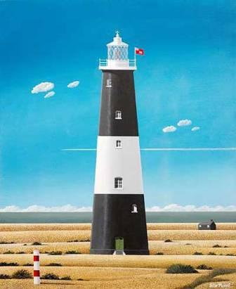 Limited Edition Prints Artist Peter Heard - Dungeness