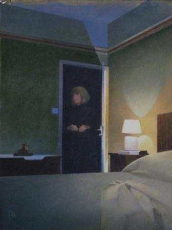 British Artist Peter KELLY - The Hotel Bedroom