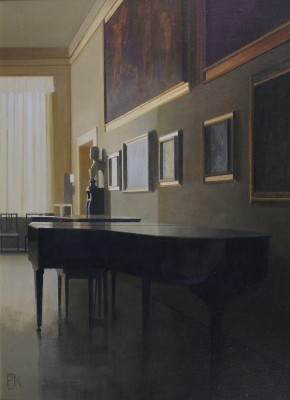 British Artist Peter KELLY - The Music Room