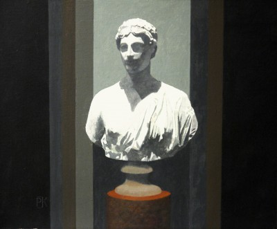 British Artist Peter KELLY - Sappho in the Ashmolean