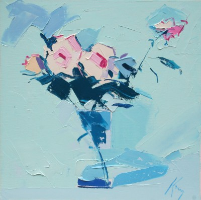 Peter KING, contemporary artist - Pink Roses