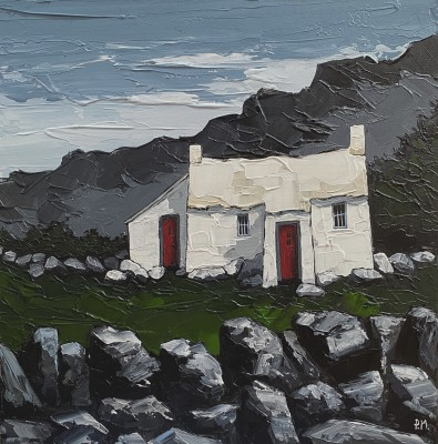 British Artist Peter MORGAN - The Good Old Cottage