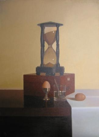 British Artist Peter KELLY - Hourglass