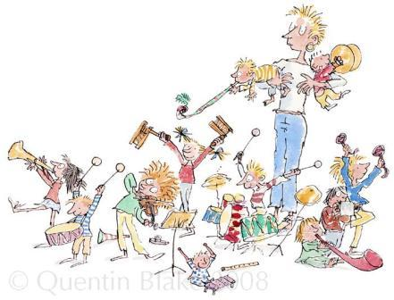 Quentin Blake - The Very Best Of All Is When We We All Join In