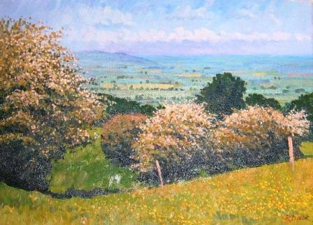 Richard DACK - May in the Cotswolds