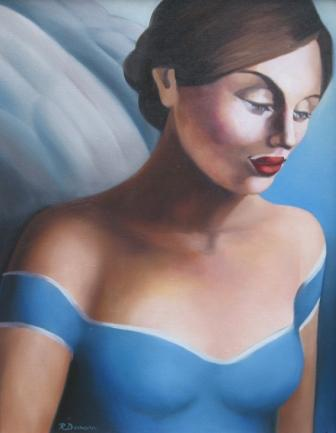 Rachel DEACON - Angel in Blue