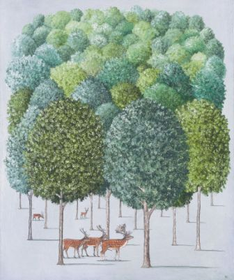 British Artist Rebecca CAMPBELL - The Forest