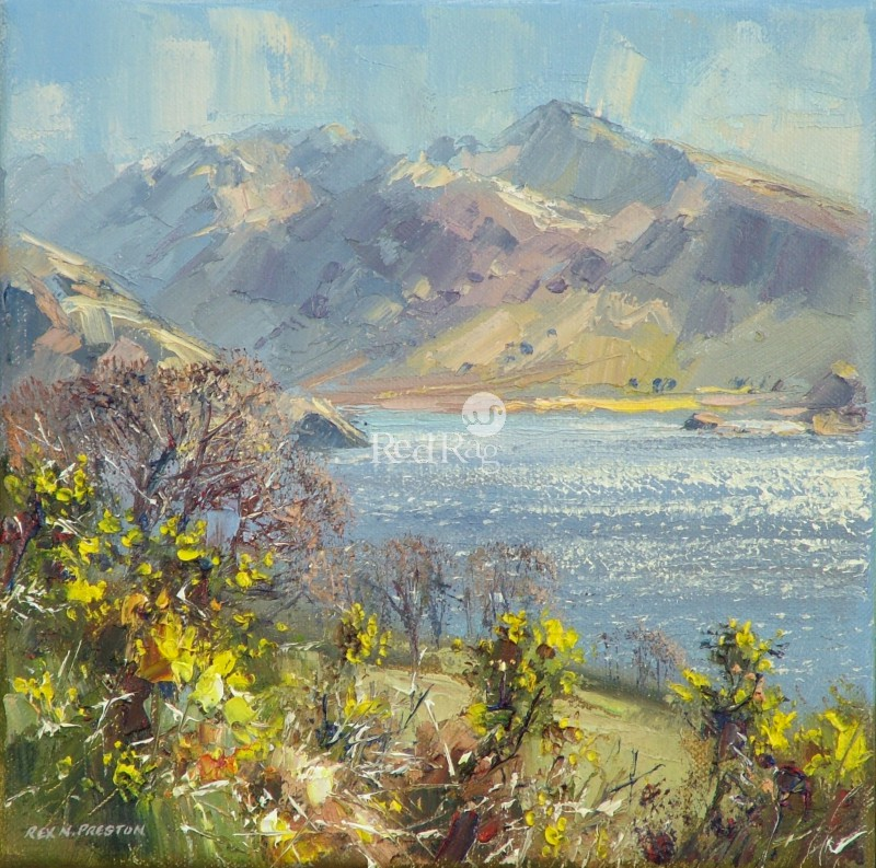 Rex PRESTON - Afternoon Sunlight, Crummock Water