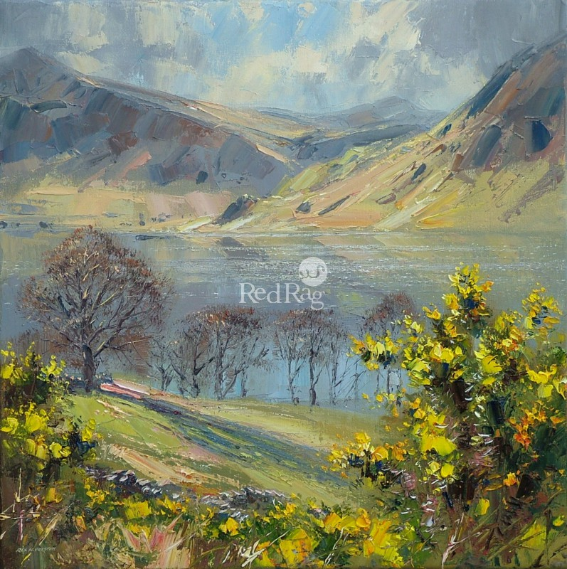 Rex PRESTON - April Gorse, Crummock Water